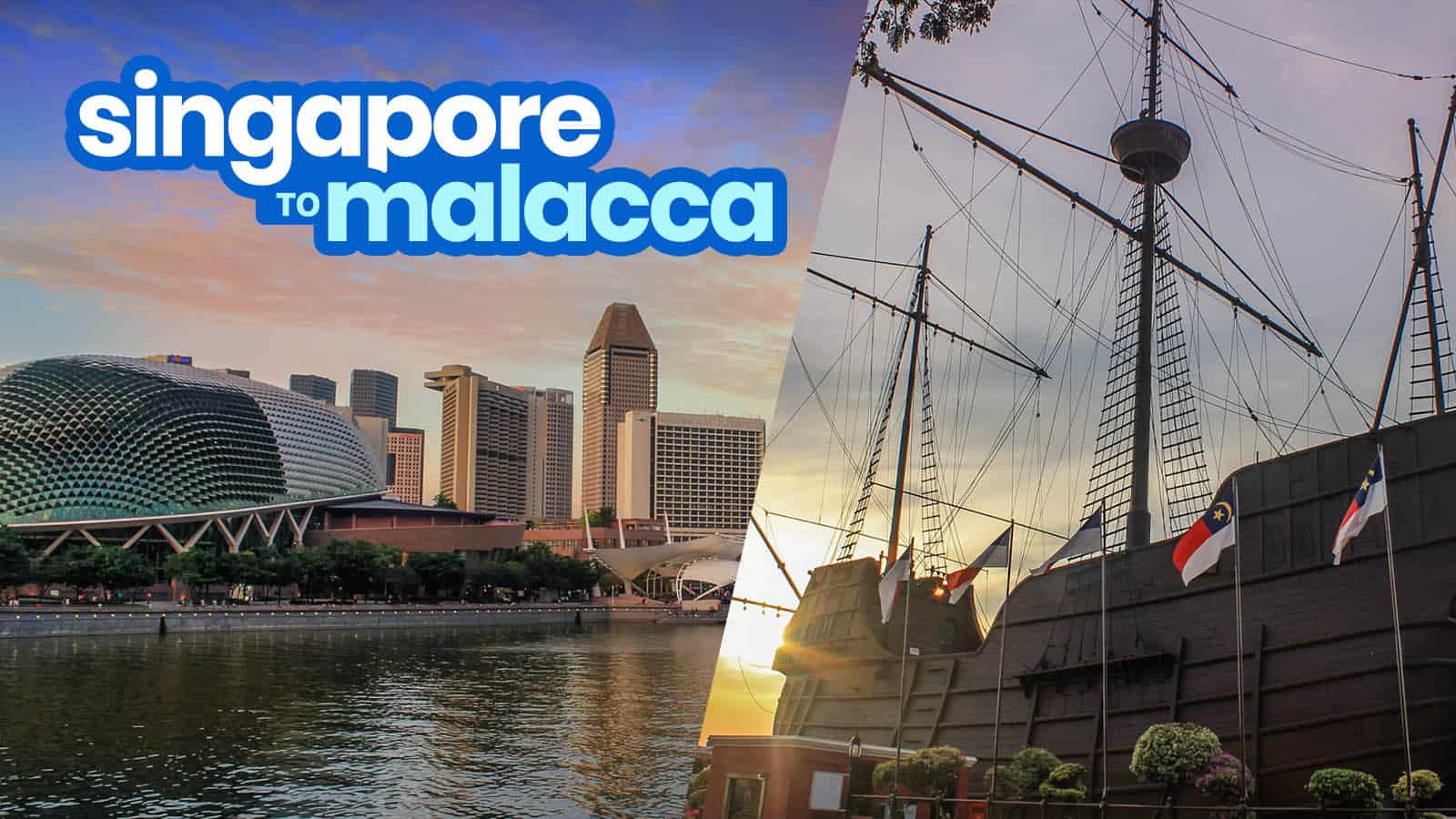SINGAPORE TO MALACCA by BUS or TRAIN: Crossing the Border