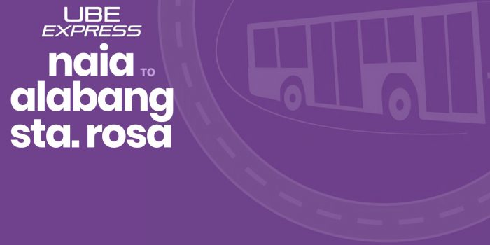UBE Express P2P BUS Schedule: NAIA to ALABANG and STA. ROSA, LAGUNA