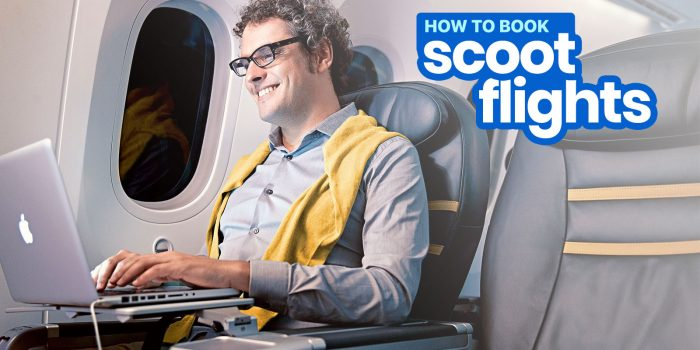 SCOOT PROMO FLIGHTS: How to Book without a Credit Card