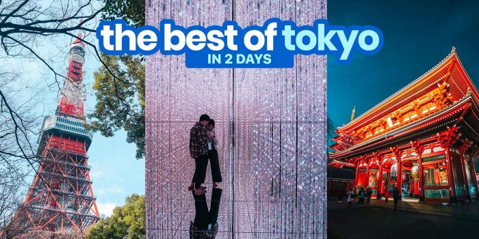 THE BEST OF TOKYO IN 2 DAYS: Sample Itinerary and Budget