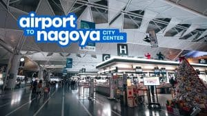 CHUBU CENTRAIR AIRPORT to NAGOYA or GIFU CITY: By Bus and By Train