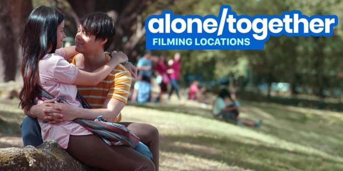 ALONE / TOGETHER: 8 Shooting Locations in UP Diliman