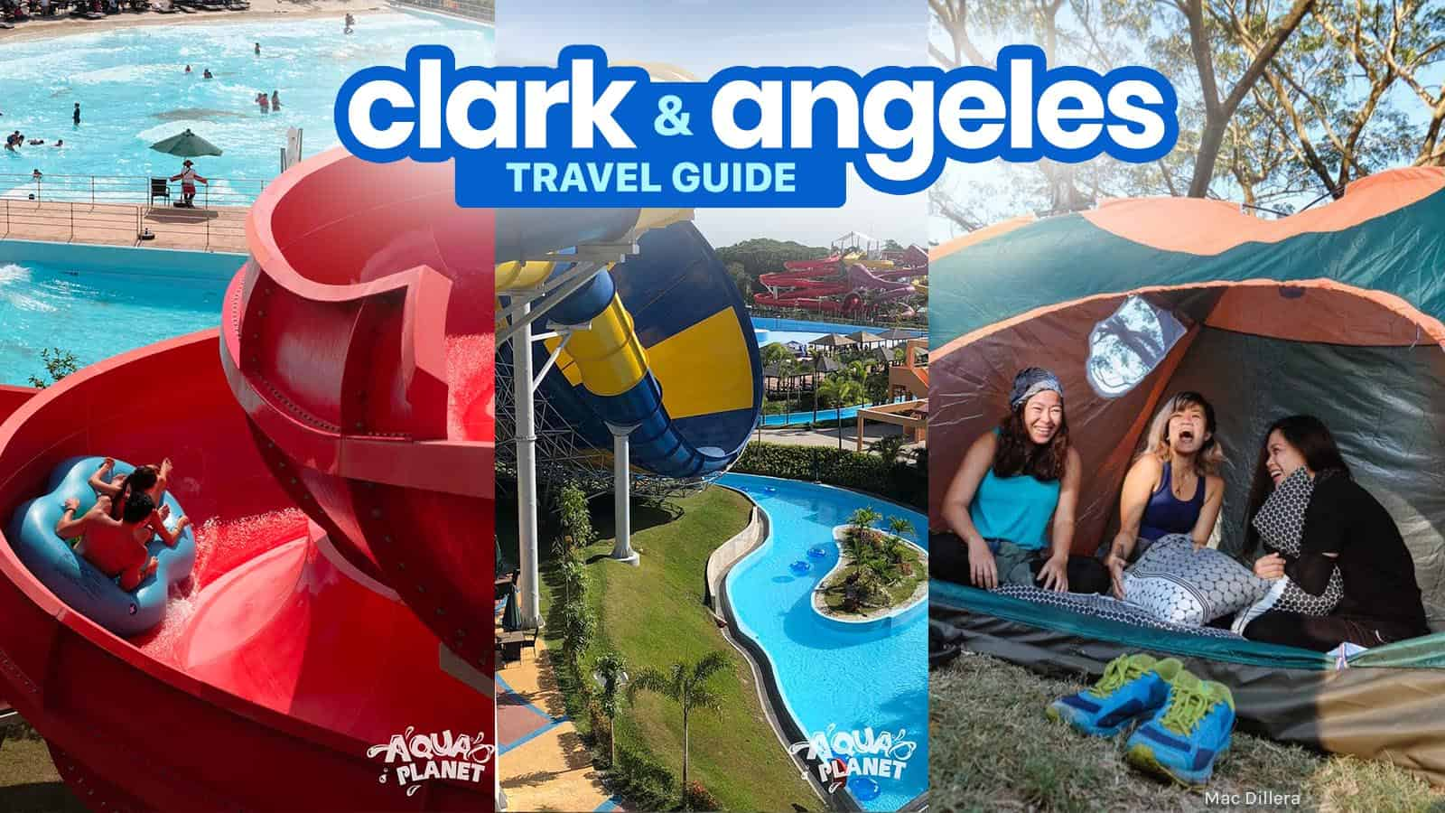 New! CLARK & ANGELES CITY: Travel Guide & Budget Itinerary | The