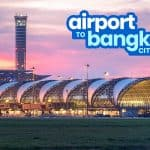 BANGKOK AIRPORT TO CITY CENTER: Silom & Khao San Road