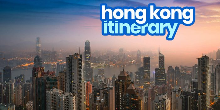 HONG KONG ITINERARY: 12 Best Things to Do & Places to Visit