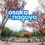 OSAKA TO NAGOYA / NAGOYA TO OSAKA: By Bus & By Train