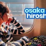 KANSAI AIRPORT / OSAKA to HIROSHIMA: By Bus and By Train