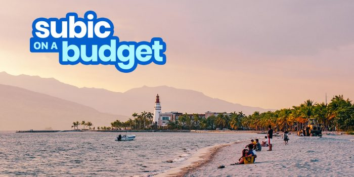 SUBIC TRAVEL GUIDE with Budget Itinerary 2020