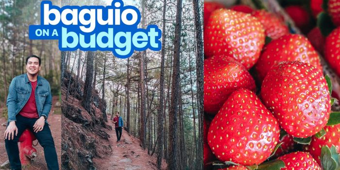 2019 BAGUIO CITY TRAVEL GUIDE with Budget Itinerary