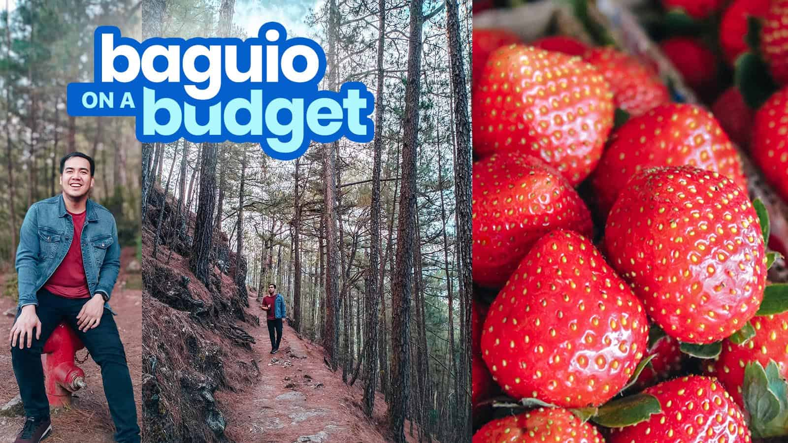 2020 BAGUIO CITY TRAVEL GUIDE with Budget Itinerary