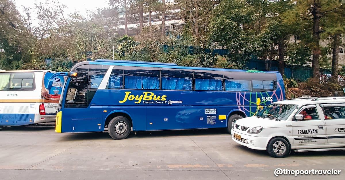 MANILA TO BAGUIO: Victory Liner & Joy Bus Schedule (Cubao, Pasay
