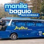 MANILA TO BAGUIO: Victory Liner & Joy Bus Schedule (Cubao, Pasay, Manila)