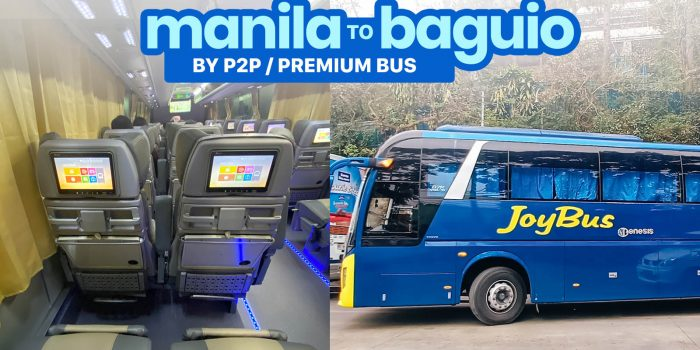 MANILA TO BAGUIO P2P BUS Schedule & Fare: JoyBus, Victory Liner, Solid North
