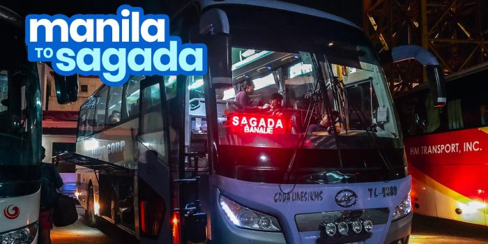 MANILA TO SAGADA: By Direct Bus (Coda Lines) & Via Baguio