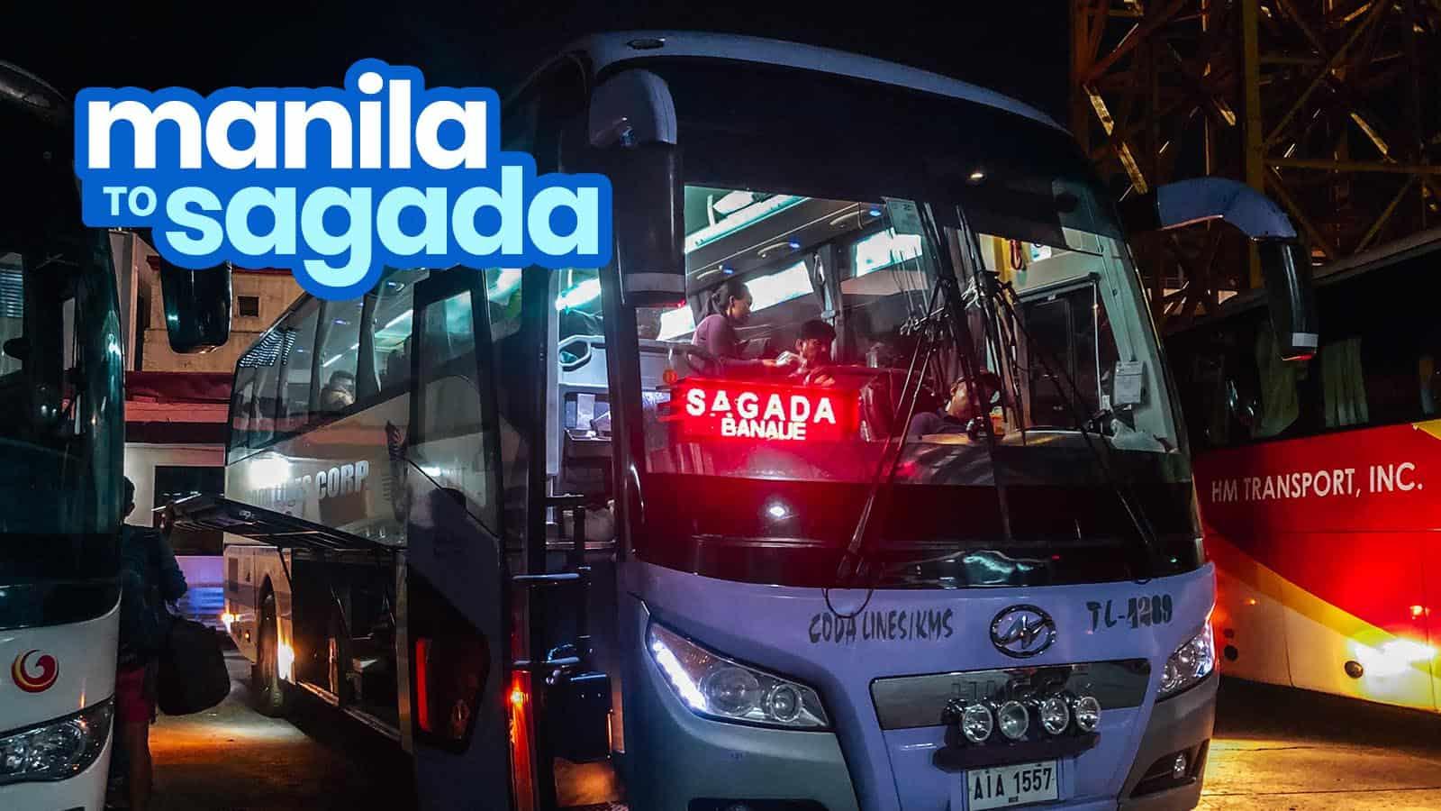 MANILA TO SAGADA: By Direct Bus (Coda Lines) & Via Baguio