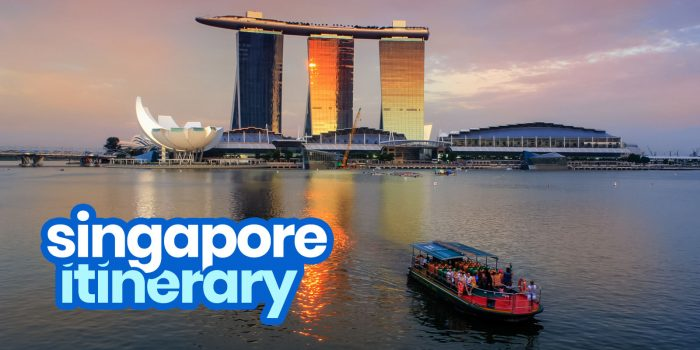 SINGAPORE ITINERARY: 14 Best Things to Do & Places to Visit