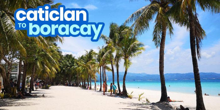 How to Get from CATICLAN AIRPORT to BORACAY