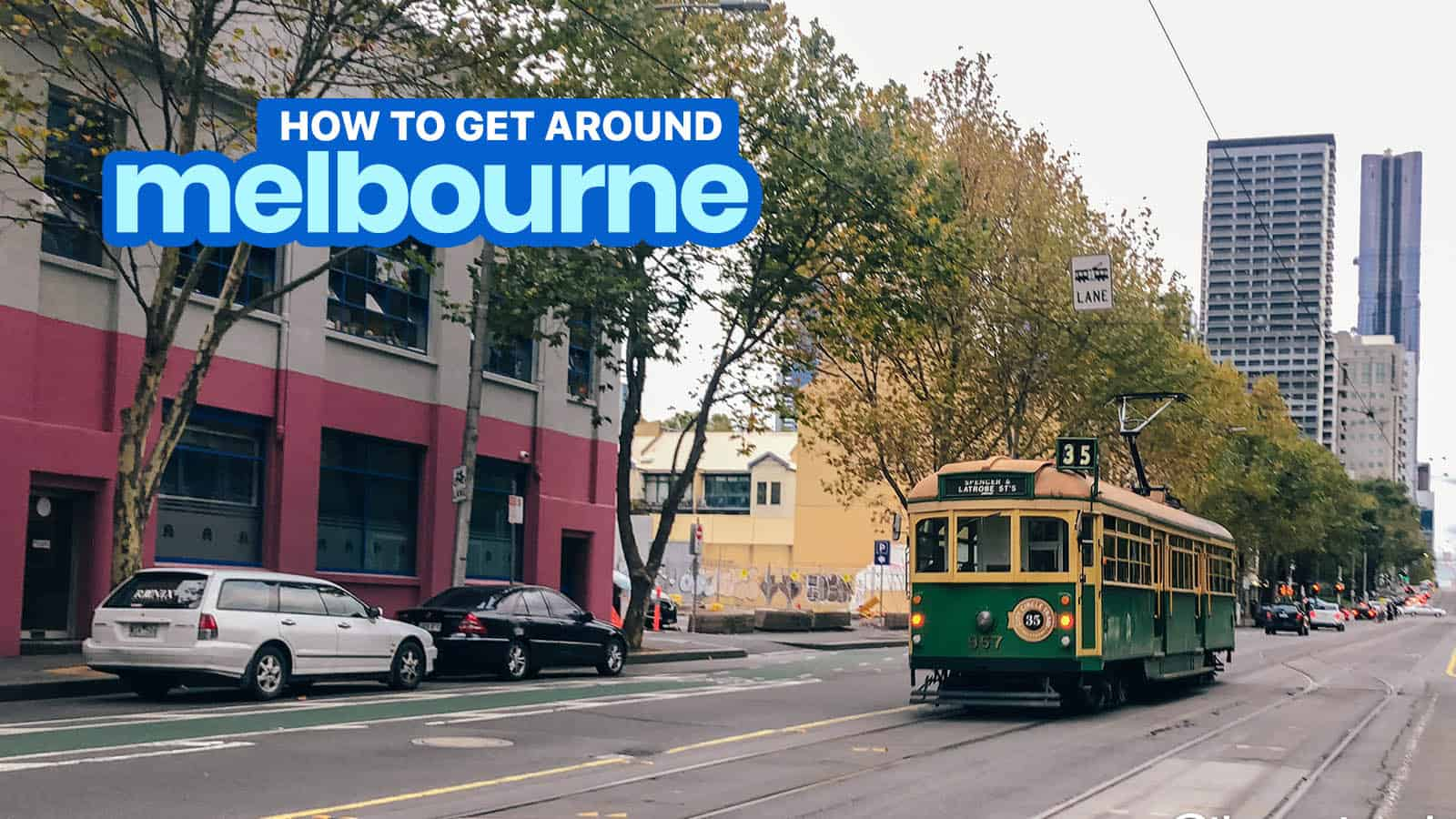 GETTING AROUND MELBOURNE: How to Use Myki Card + Tram, Train, Bus