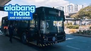 ALABANG to NAIA / NAIA to ALABANG: P2P Bus Schedule (UBE Express)