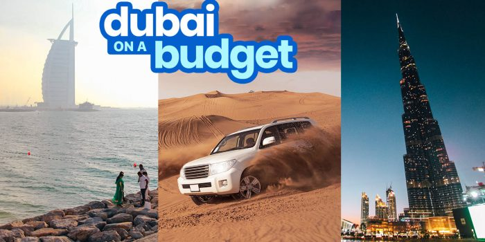 DUBAI TRAVEL GUIDE with Budget Itinerary 2020