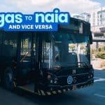 ORTIGAS to NAIA / NAIA to ORTIGAS: P2P Bus Schedule (UBE Express)
