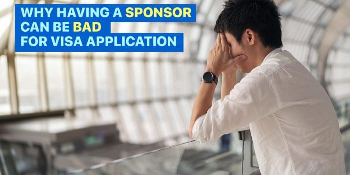 Why Having a SPONSOR can be BAD for Visa Application & Immigration