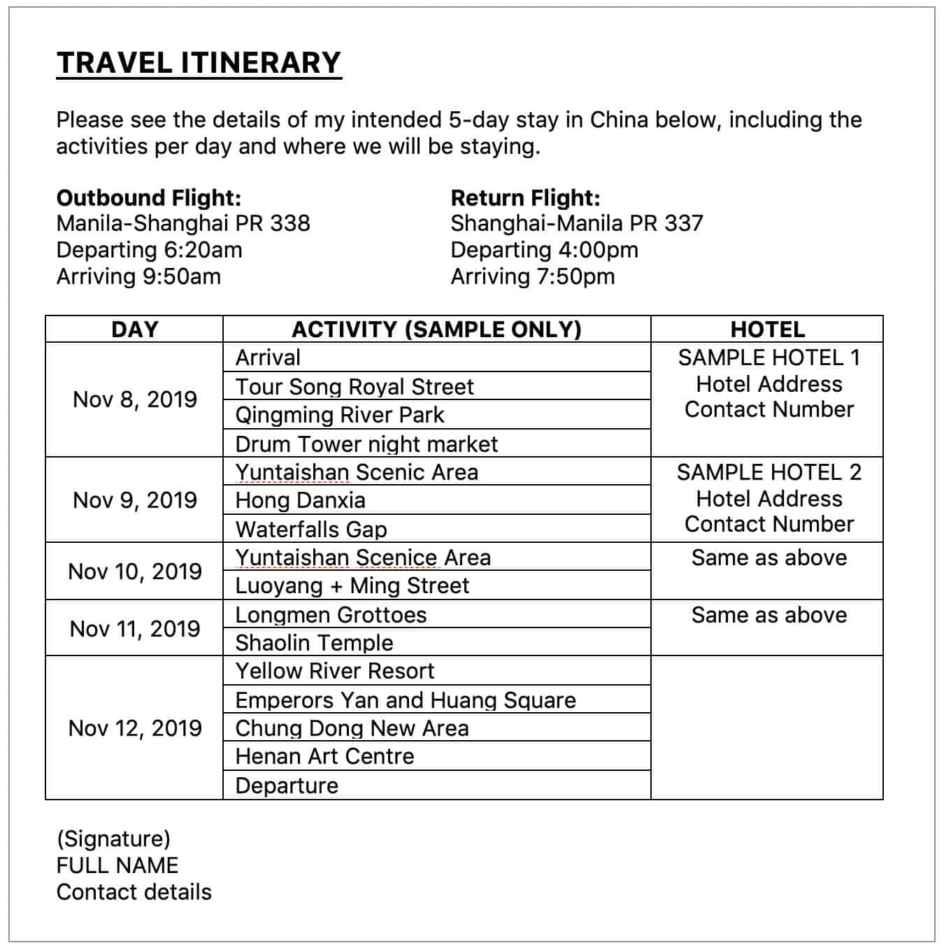 China Visa Requirements Application Process 2020 The Poor Traveler Itinerary Blog