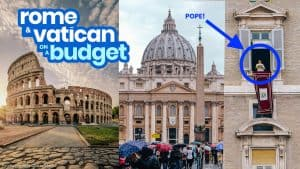 ROME & VATICAN CITY: TRAVEL GUIDE with Budget Itinerary 2019
