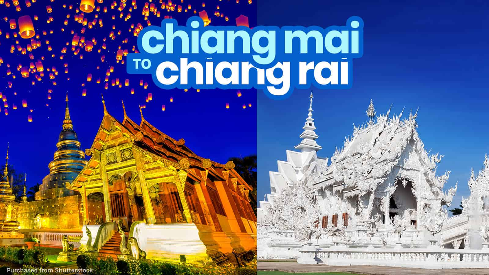 CHIANG MAI TO CHIANG RAI: By Bus, Private Transfer or Group Tour