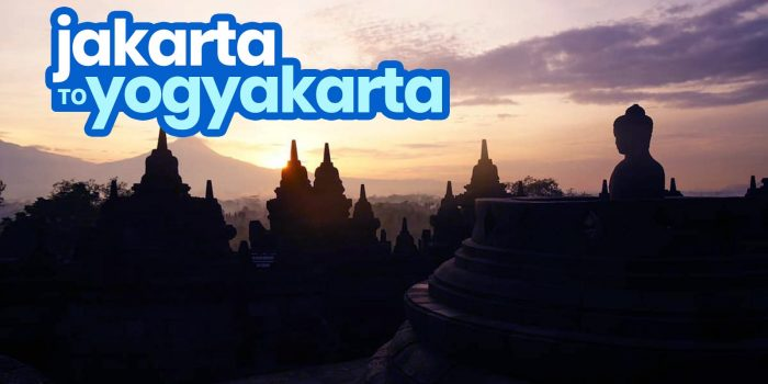 JAKARTA TO YOGYAKARTA: By Train, Bus & Plane