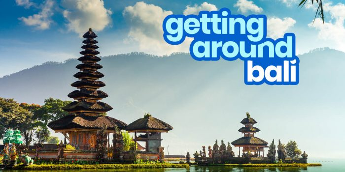 HOW TO GET AROUND BALI: By Bus, Taxi, Group Tour & More