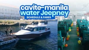 CAVITE TO MANILA (LAWTON & CCP): Ferry or Water Jeepney Schedule & Fares