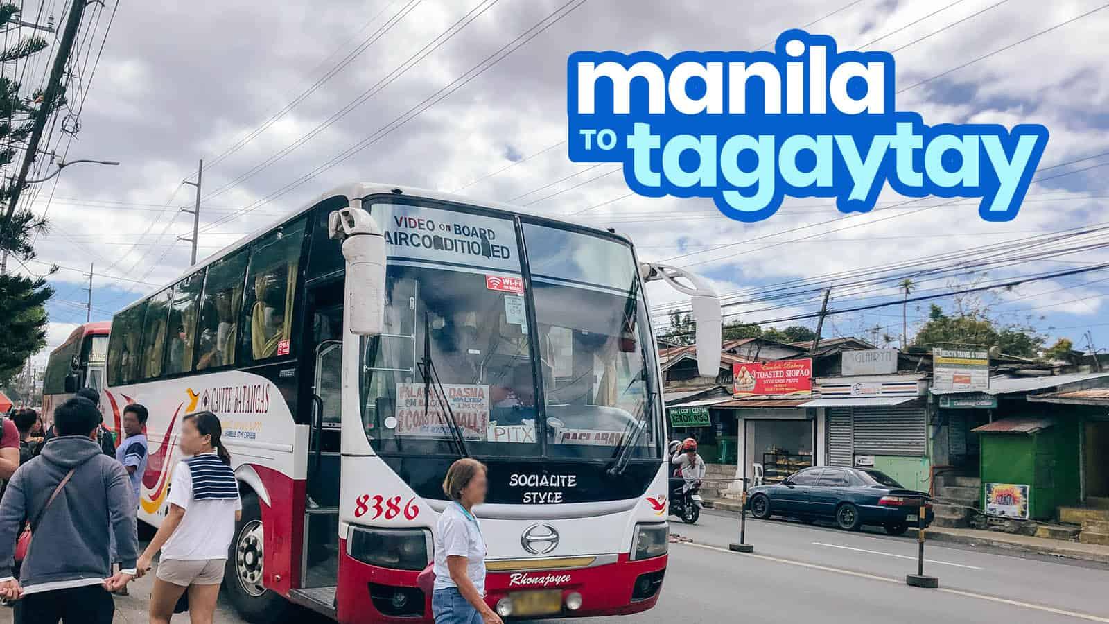 HOW TO GET TO TAGAYTAY: Manila to Sky Ranch, Olivarez & Wind Residences