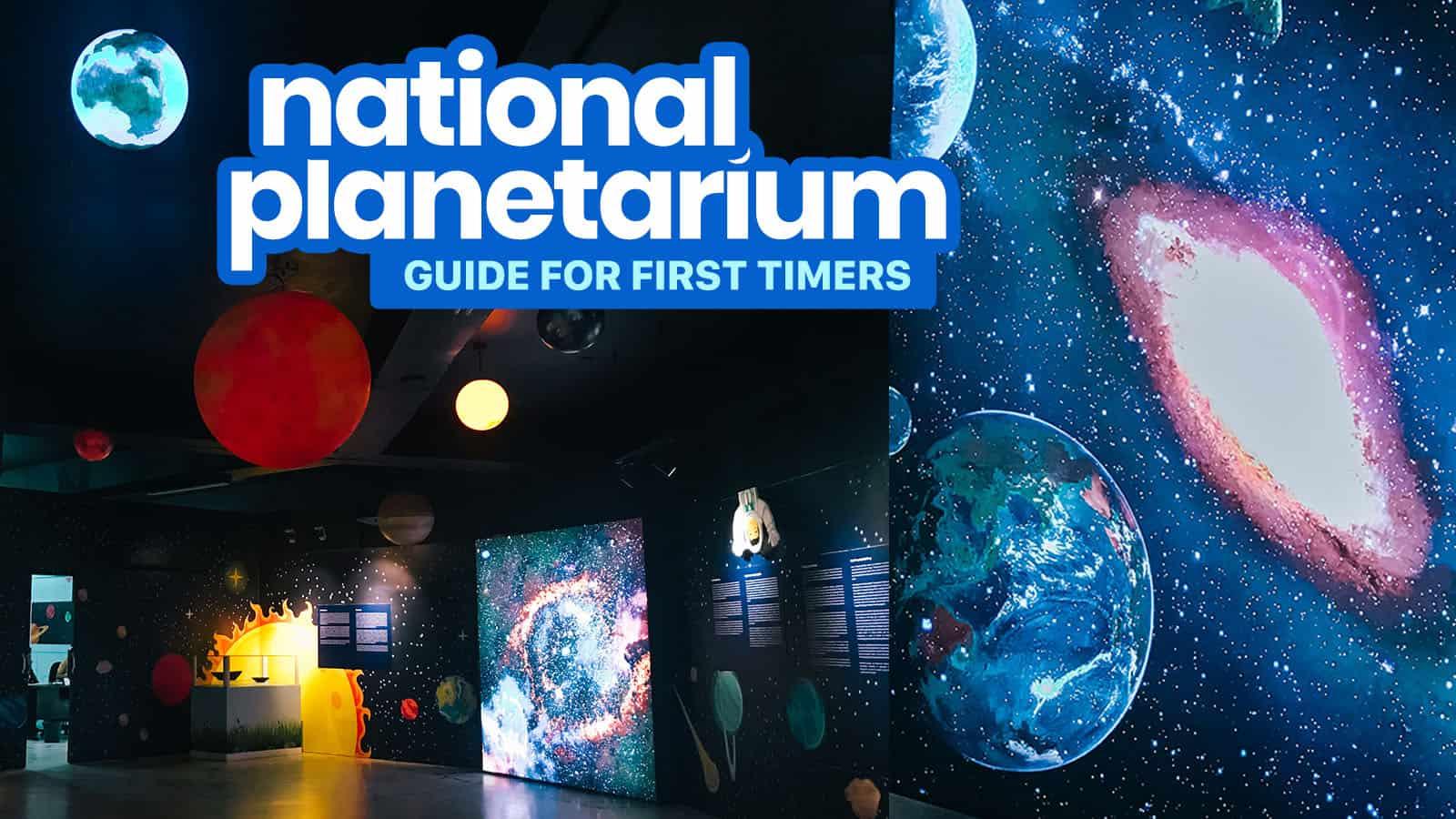 NATIONAL PLANETARIUM MANILA: Entrance Fee, Schedule & Other Tips