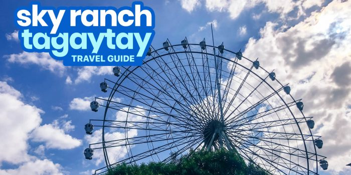 SKY RANCH TAGAYTAY: Travel Guide, Best Rides, Ticket Price