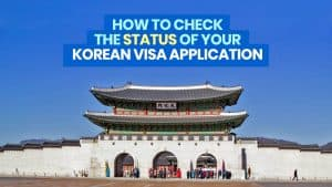 How to Check Status of Your KOREAN VISA APPLICATION Online: Approved or Denied?