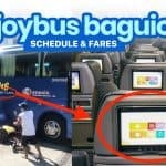 JOY BUS MANILA TO BAGUIO & BACK: Schedule & Fares (Cubao, Pasay, Avenida)