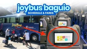 JOY BUS MANILA TO BAGUIO & BACK: Schedule & Fares (Cubao, Pasay, Avenida)