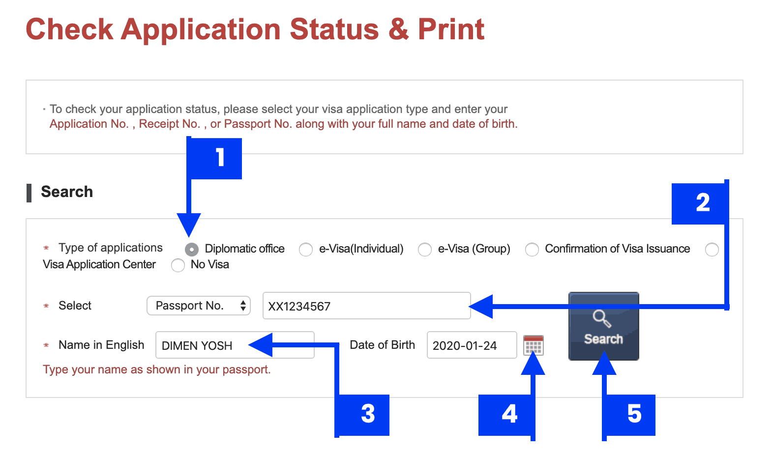 How To Check Status Of Your Korean Visa Application Online Approved Or Denied The Poor Traveler Itinerary Blog