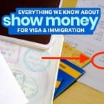 SHOW MONEY for VISA APPLICATION & IMMIGRATION: Everything We Know So Far