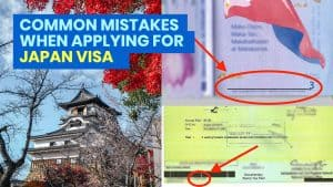 Avoid These 12 COMMON MISTAKES when Applying for a JAPAN VISA!