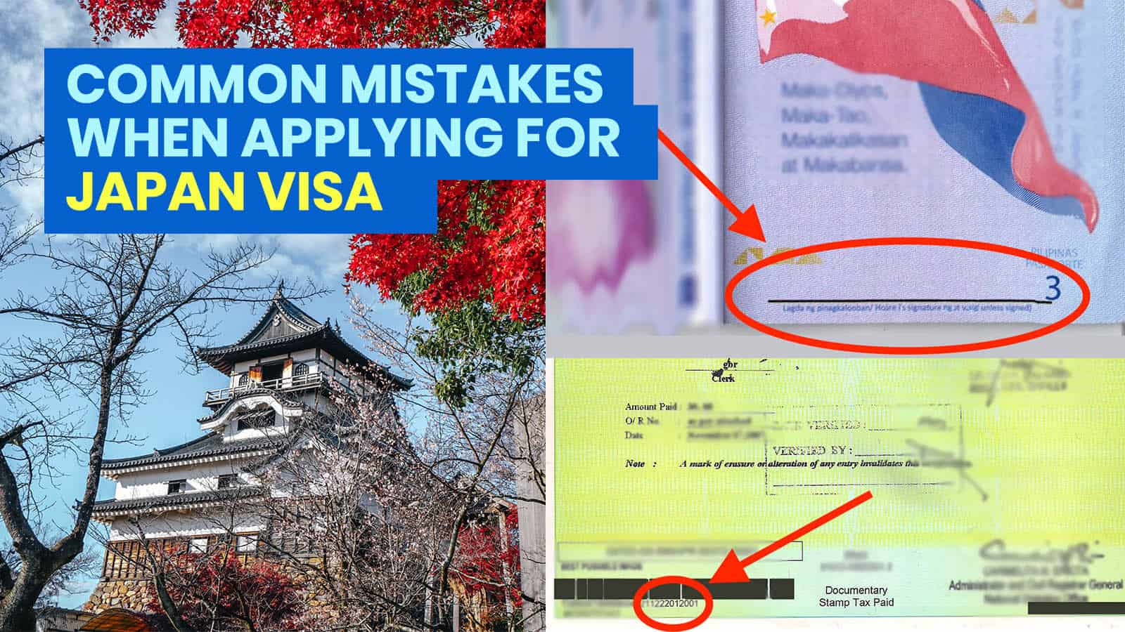 JAPAN VISA APPLICATION: 12 COMMON MISTAKES TO AVOID