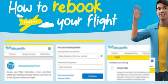 How to Easily REBOOK your CEBU PACIFIC Flight Online