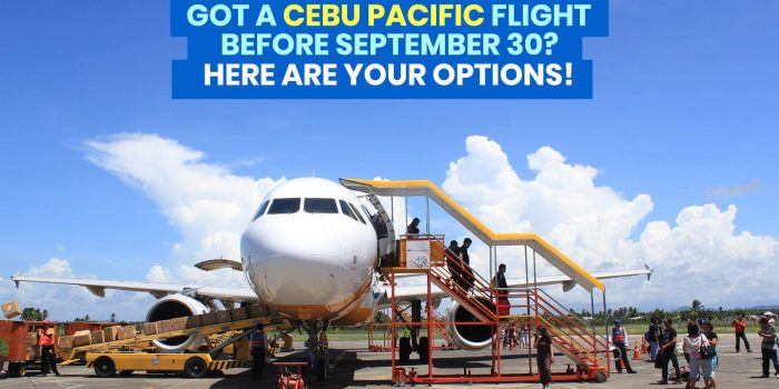 CEBU PACIFIC Flights from June 1-September 30: How to REBOOK or Use Travel Fund