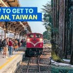 CHIAYI TO ALISHAN by Alishan Express Train & Bus: Schedule & Fare
