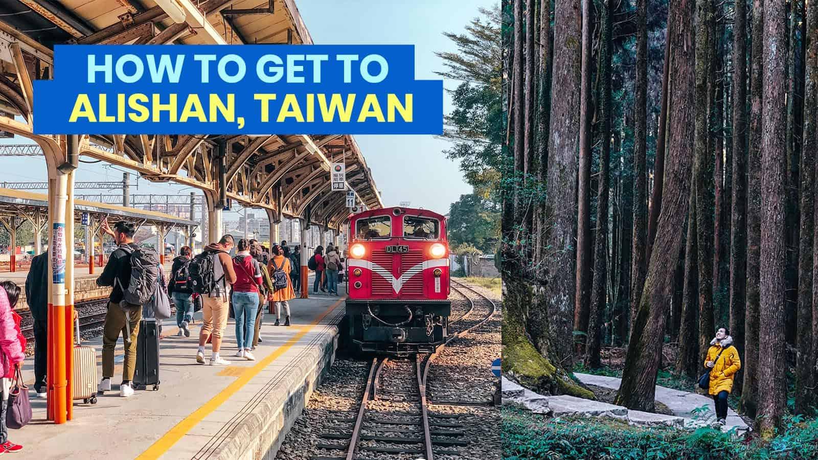 CHIAYI TO ALISHAN by Alishan Express Train & Bus: Schedule & Fare