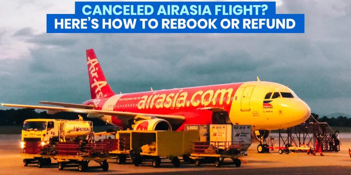 Canceled AIRASIA Flight due to COVID-19? Here's How to REBOOK or REFUND!