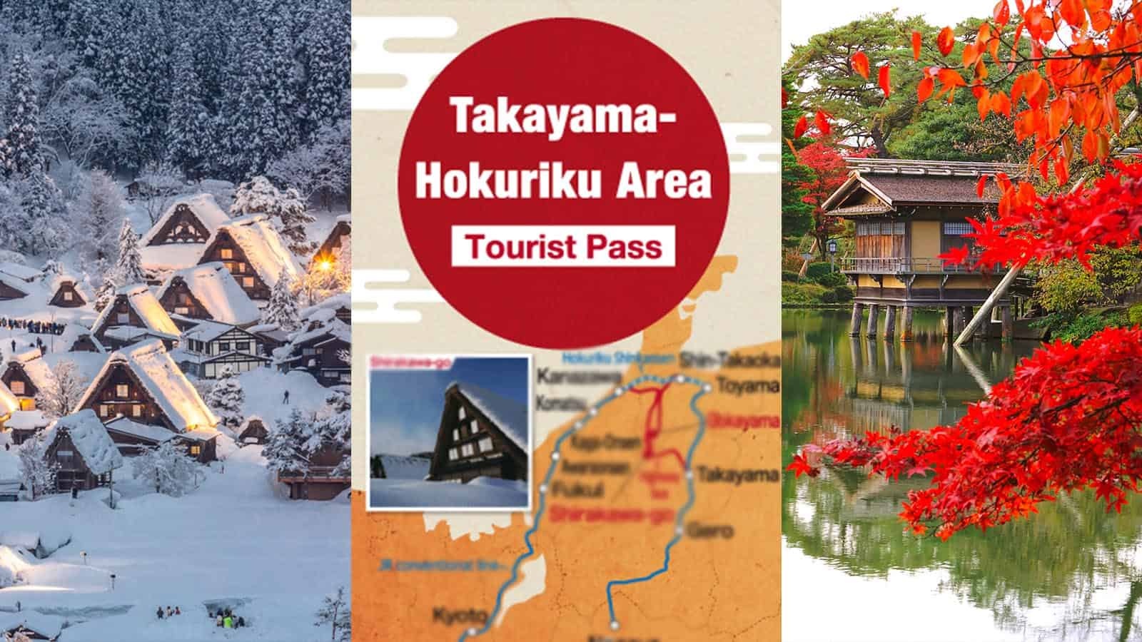 JR TAKAYAMA-HOKURIKU AREA TOURIST PASS: Where to Buy, How to Use