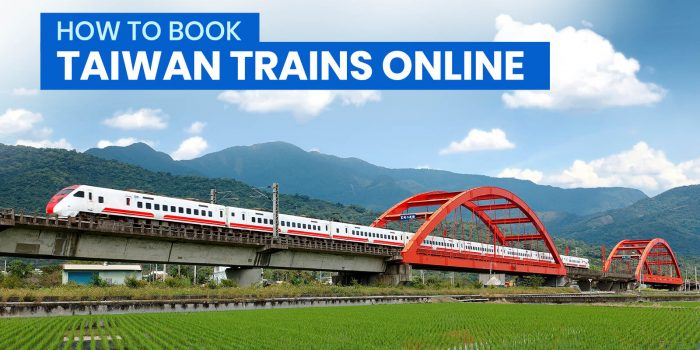 How to Book TAIWAN TRAIN Online (TRA)