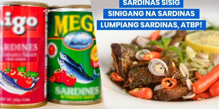 12 Easy & Budget-Friendly CANNED SARDINES RECIPES